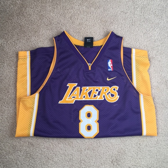 Nike Shirts & Tops | Kobe Bryant Lakers Nba Jersey 8 Nike Youth Xl ...